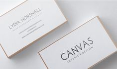 Business Card Design by Amy Curley for interior designer/stylist looking for a letter press business card to reflect the stylish work - Design #7868220