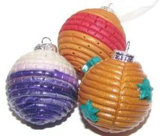 Image for Polymer Clay -Christmas Baubles DIY Craft Project