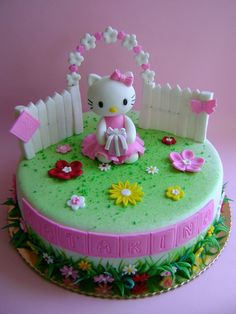 Hello Kitty Cake Gateau Hello Kitty Un Jeu D Enfant Cake Design
