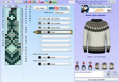 Design-your-own Icelandic sweater.  Requires Silverlight.