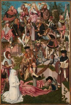 ab. 1495 Geertgen tot Sint Jans - Tree of Jesse