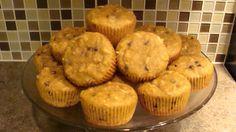 Not so chunky monkey (Grain free) muffins