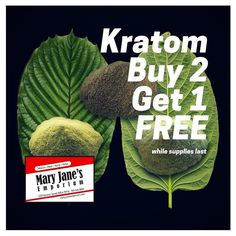 All Kratom products are on sale BUY 2 GET 1 FREE! #kratom #frenchquarter #neworleans