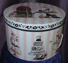 Wild Violet Florist & Gifts - BOXES ~ CASESFabulous hat boxes and cases for the fashion diva in all of us