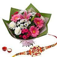 Ever Shine Flowers With Rakhi