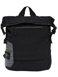 STONE ISLAND PANAMA NYLON CANVAS BACKPACK. #stoneisland #bags #canvas #nylon #backpacks #