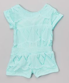e38b4d9d181e Look at this Mint Romper - Toddler  amp  Girls on  zulily today! Outfits