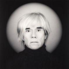 Andy Warhol photographié par l'artiste américain Robert Mapplethorpe Edward Steichen, Cindy Sherman, Robert Mapplethorpe, Edward Weston, Alfred Stieglitz, Richard Avedon, Ansel Adams, Andy Warhol, Billy The Kid