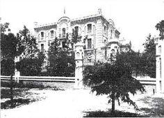 1908  Arturo Soria construye Villa Rubín.       Villa Rubín fue uno de los edificios más altos de la Ciudad Lineal. Debido a su situación, j...