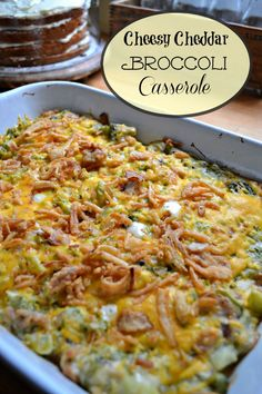 This yummy Cheesy Cheddar Broccoli Casserole from Taste of Home will quickly become a family favorite!
