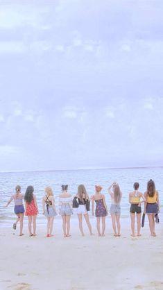 Kpop Girl Groups, Korean Girl Groups, Kpop Girls, Tzuyu Wallpaper, K Wallpaper, Signal Twice, Twice Group, Twice Album, Twice Fanart