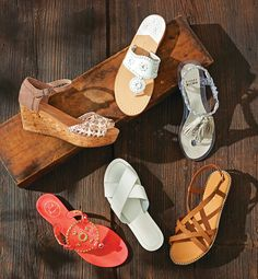 North Shore Summer Sandals   As seen in Northshore magazine's July 2015 Issue