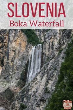 Slovenia Travel Guide - Slap Boka Waterfall, one of the mightiest falls in Slovenia Best Places To Travel, Oh The Places You'll Go, Cool Places To Visit, Europe Travel Tips, Travel Guide, Slovenia Travel, Waterfall Hikes, Travel Alone, Plan Your Trip