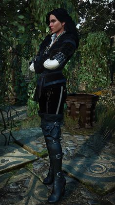 The Witcher Yennefer Outfits Witcher 3 Yennefer, Yennefer Cosplay, Witcher Art, Yennefer Of Vengerberg, The Witcher Wild Hunt, The Witcher Game, Vampire Masquerade, Medieval Fashion, Fantasy Warrior