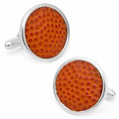 Tokens and Icons Authentic Syracuse University Basketball Cufflinks