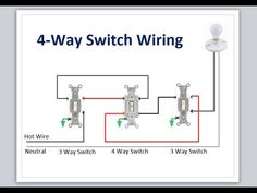 4 way switch with power feed via the light switch how to wire a 4 way switch with power feed via the light switch how to wire a light switch pinterest light switches ccuart