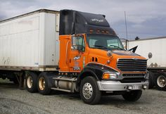 Day & Ross | Flickr - Photo Sharing! Ford Tractors, Ford Trucks, Semi Trucks, Big Trucks, Sterling Trucks, Trailers, Classic Trucks, Cool Pictures, Buses