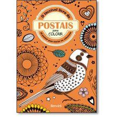 Incrível Livro De Postais Para Colorir, O - 28 Postais Para Enviar Ou Colecionar