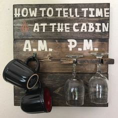 Cozy up your cabin with this one of a kind sign! Ready to ship!
