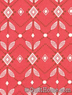 Little Folks Voile VAH02-Pomegranate Voile Fabric by Anna Maria Horner