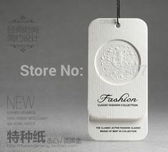 Inventory High-quality clothing hang tags garment paper tag swing tag label / free design customized printed logo hang tag dp547(China (Mainland))