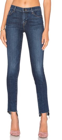J Brand 811 Mid Rise Skinny Jean on ShopStyle