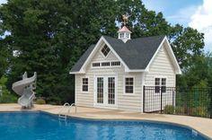 14' x 20' Pool House