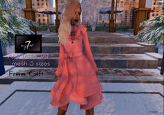 Anna Coat Teleport Hub Group Gift by Sevyn East
