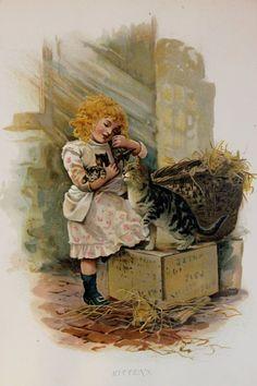 Harriett M. Bennett Ernest Nister Victorian by PaperPopinjay, $ 15,00