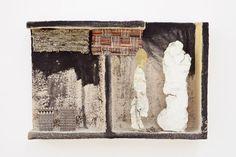 FAUSTO MELOTTI  BALZAC  1972    Courtesy :  Private Collection.Materials  Terracotta, fabrics, brass