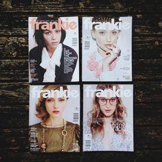 Frankie Magazines 33, 34, 35 36