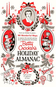1958 Betty Crocker's Holiday Almanac