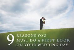 You must do a first look on your wedding day wedding firstlook