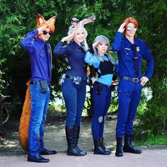Disney Costume Pin for Later: 43 Disney Costumes You and Your Group Can DIY Zootopia - Grab your Disney-loving friends this Halloween and go as a group. From Pixar to almost every Disney princess variation imaginable, we've found awesome costumes
