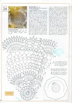 Photo from album Mailles Nomero special hors-serie Le crochet on Yandex. Crochet Bedspread Pattern, Crochet Doily Diagram, Filet Crochet, Crochet Motif, Crochet Art, Crochet Home, Vintage Crochet, Lace Doilies, Crochet Doilies
