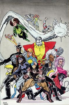 X-Men by Arthur Adams