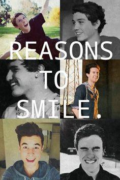 6 reasons to smile <3 O2L