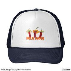 Hola Amigo Trucker Hat