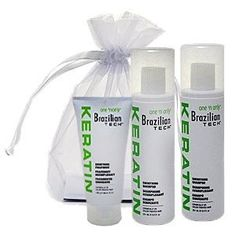 ONE N ONLY Brazilian Keratin Gift Bag by One'n Only. $24.95. Kit Includes: (1) ONE'N ONLY Brazilian Tech Keratin Shampoo 8.5 oz(1) ONE'N ONLY Brazilian Tech Keratin Conditioner 8.5 oz(1) ONE'N ONLY Brazilian Tech Keratin Treatment 5.3 oz(1) Organza Bag
