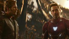 'Avengers: Infinity War': Chris Pratt and Robert Downey, Jr. Onscreen Together!