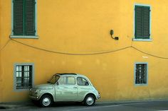 my dream car: a light green Fiat 500 (older version would be best, but ill accept the newer model, too :) )