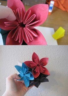 Blumen aus Papier basteln-dekoking.com-4