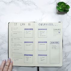 Easy Bullet Journaling Here is a link that shows learners how to pair journaling with studying and keeping one's schedule organized.
