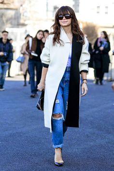 Fashion Week Street Style: Miroslava Duma