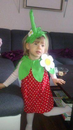 Zum Naschen schön - ein Erdbeeren-Kostüm