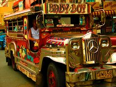 Jeepney Buses – Art on Wheels in the Philippines