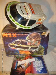 ¡LOS ORIGINALES! MADELMAN ORIGINAL Nave astronave M7X Cosmic con caja y catalogo POSTER R.800