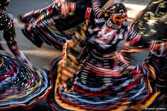 Replicating the movements of a serpent, a group of Kalbelia gypsy dancers swirls through the streets of Jaipur during Gangaur Festival, in the northern Indian state of Rajasthan. One of the most sensuous of all Rajasthani folk dances, the 'Kalbelia' is performed by a tribe of the same name. A nomadic Hindu community who revere …