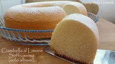Lemon Recipes, Sweet Recipes, Cake Recipes, Dessert Recipes, Biscotti, Nutella, Yogurt, Frugal, Light Desserts