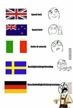 Funny Pictures No Words Language Trendy Ideas 9gag Funny, Funny Texts, Funny Jokes, Funny Images, Funny Photos, German Words, Funny Animal Quotes, Monday Memes, Learn German